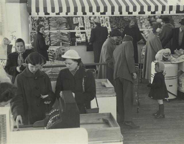 Opening Day Sobeys Antigonish 1954