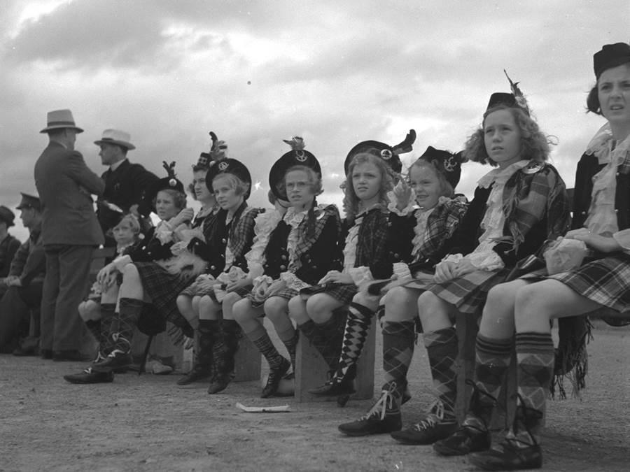 B3 - Highland Games 1940 Dancers