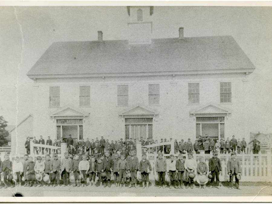 B3 - Main Street School, circa 1902