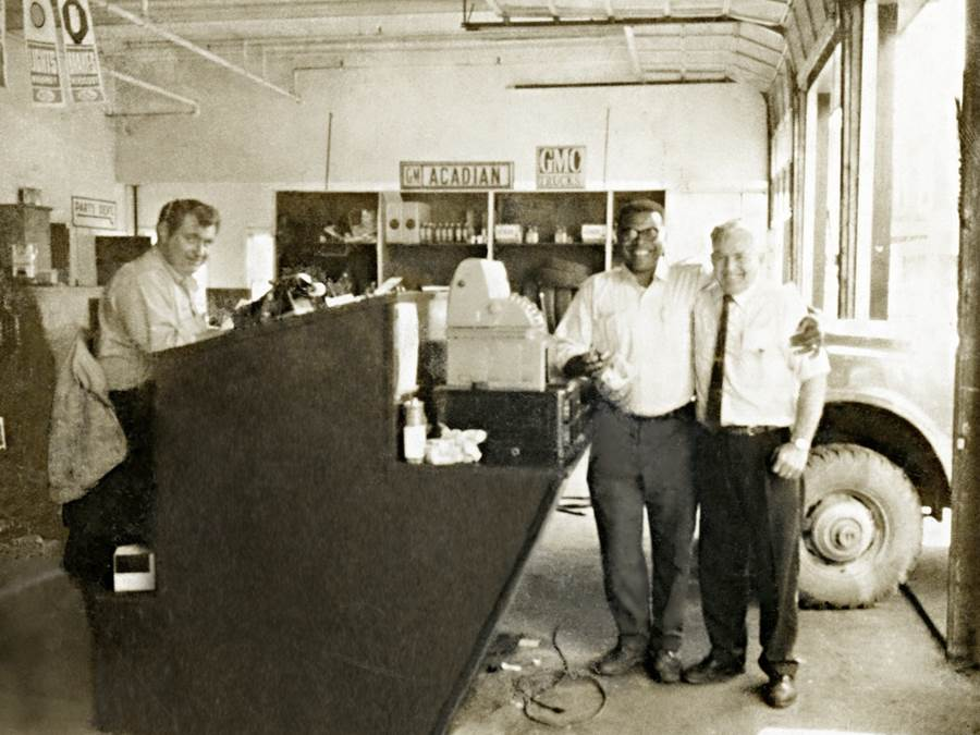 B12 - Parts Department, Eastern Auto, 1960s