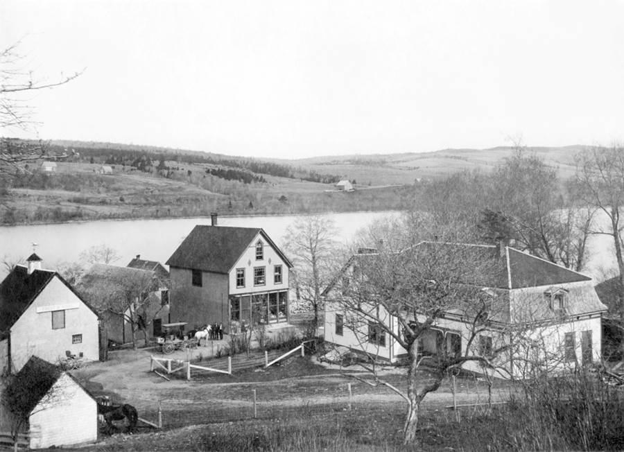 B13 - T. J.  (Thomas) Sears livery stable, Lochaber, 1905 - 1910
