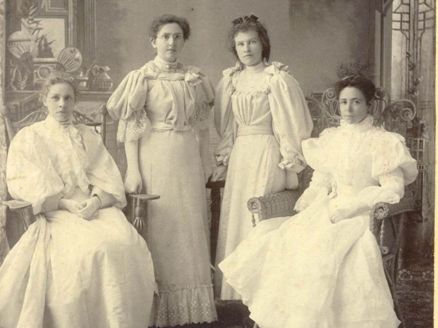 B4 - Mount St. Bernard  First Graduating Class, B.A., 1897