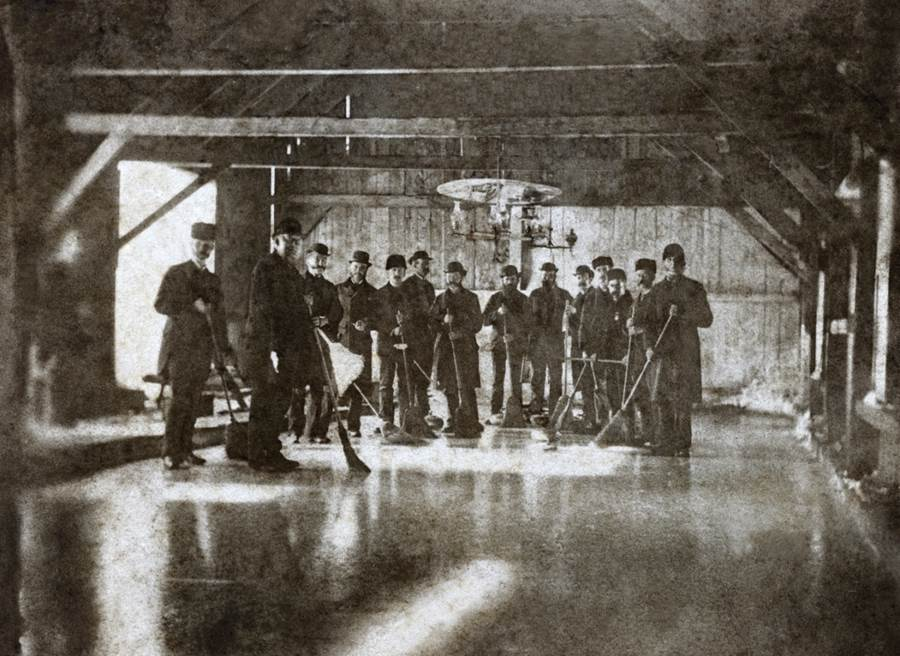 B7 - Antigonish Curling Club formed around 1850, c 1883-1884