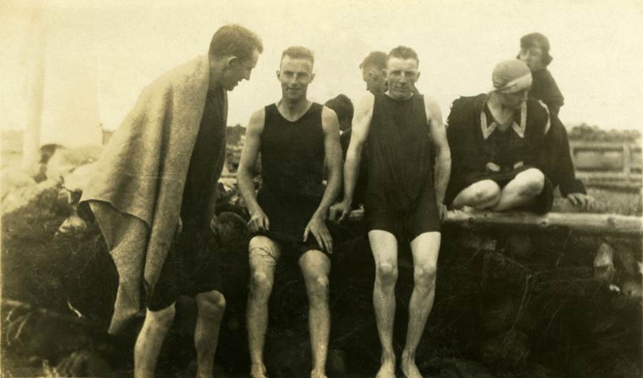 B7 - Swimming, Jimtown Beach, 1920s
