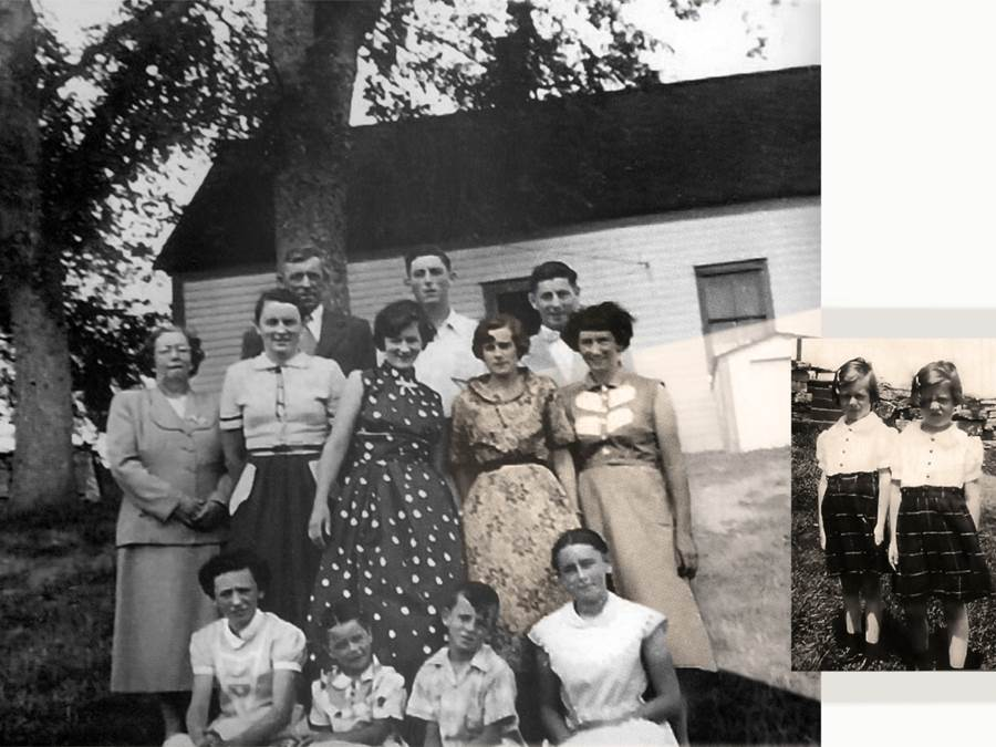 B8 - Billy Colin MacDonald family, 1949