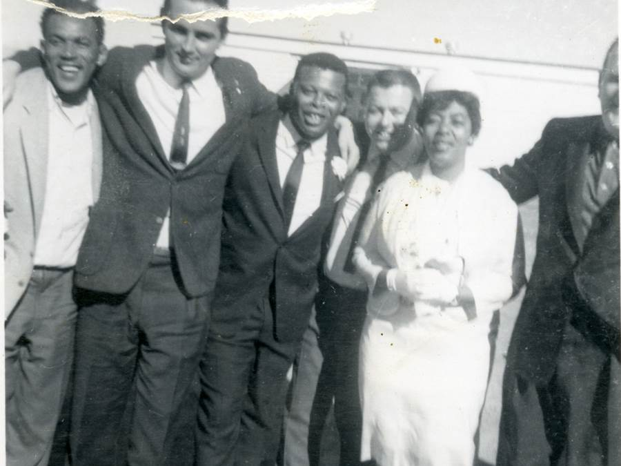 B9 - Marriage of Sam Gero and Mary Ann Phee, June, 1963