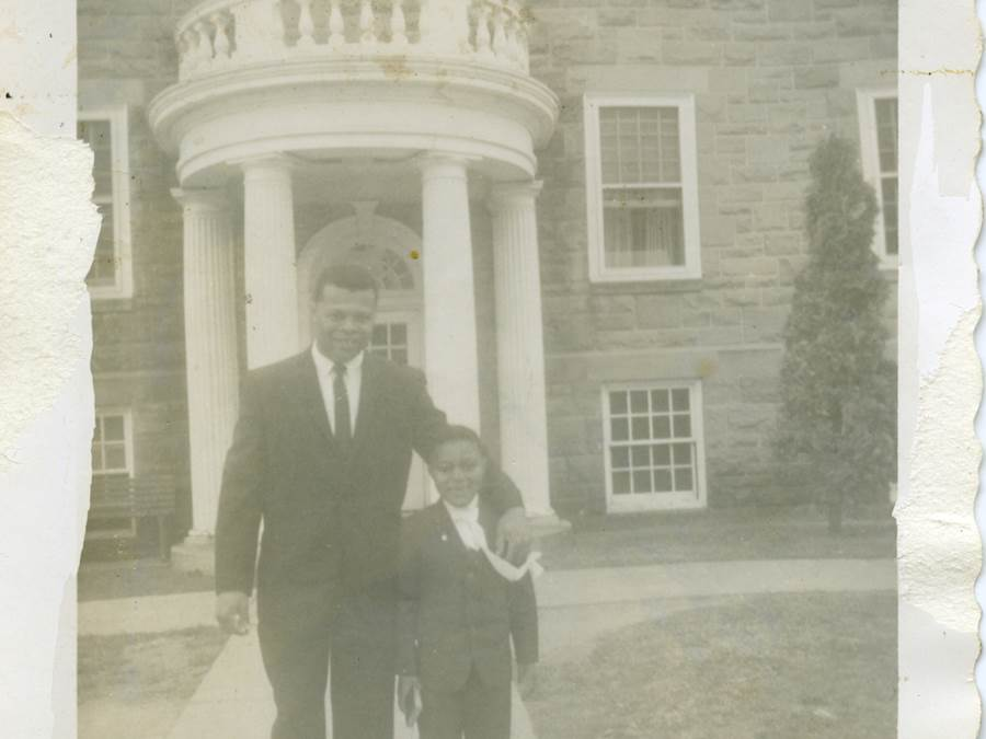 B9 - Sam Gero and David Phee, Morrison Hall, c 1965