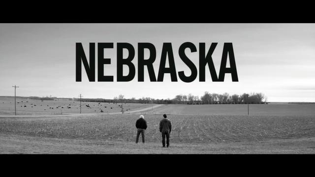 Nebraska b w with Bruce Dern Will Forte Art 4 Health