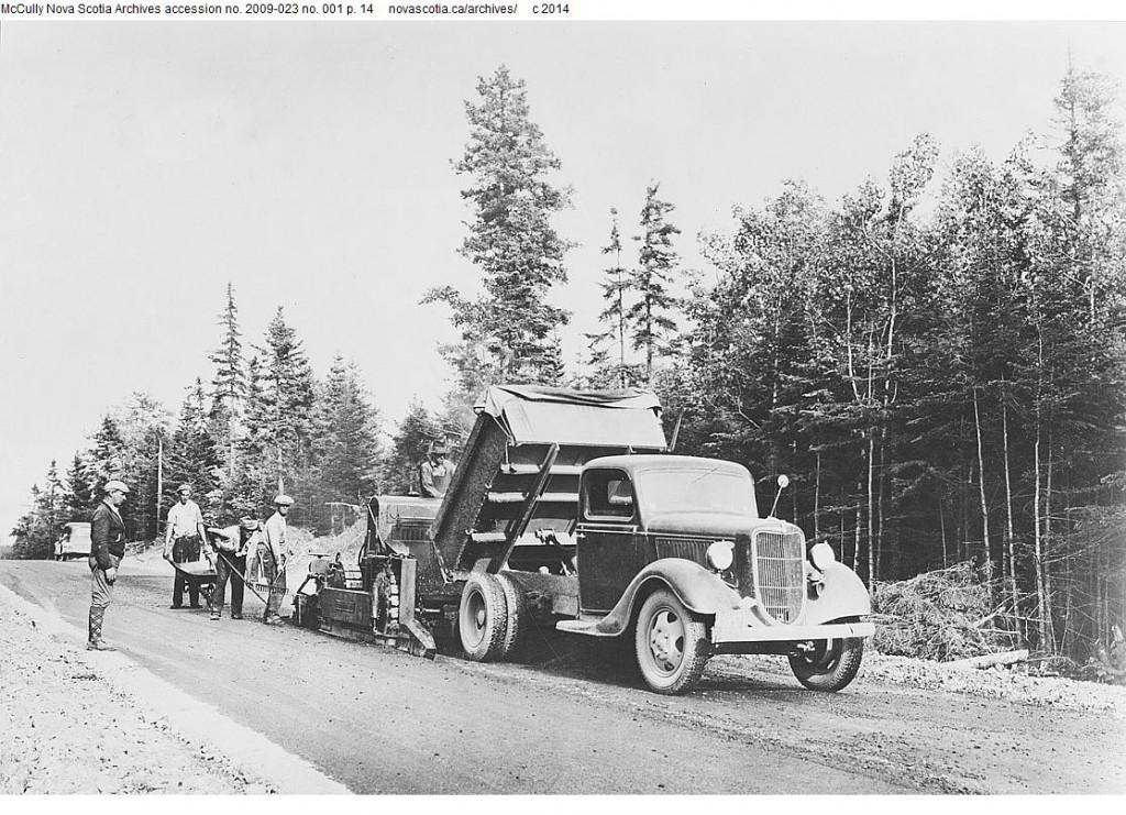 James River to Heatherton Route Paving 1936