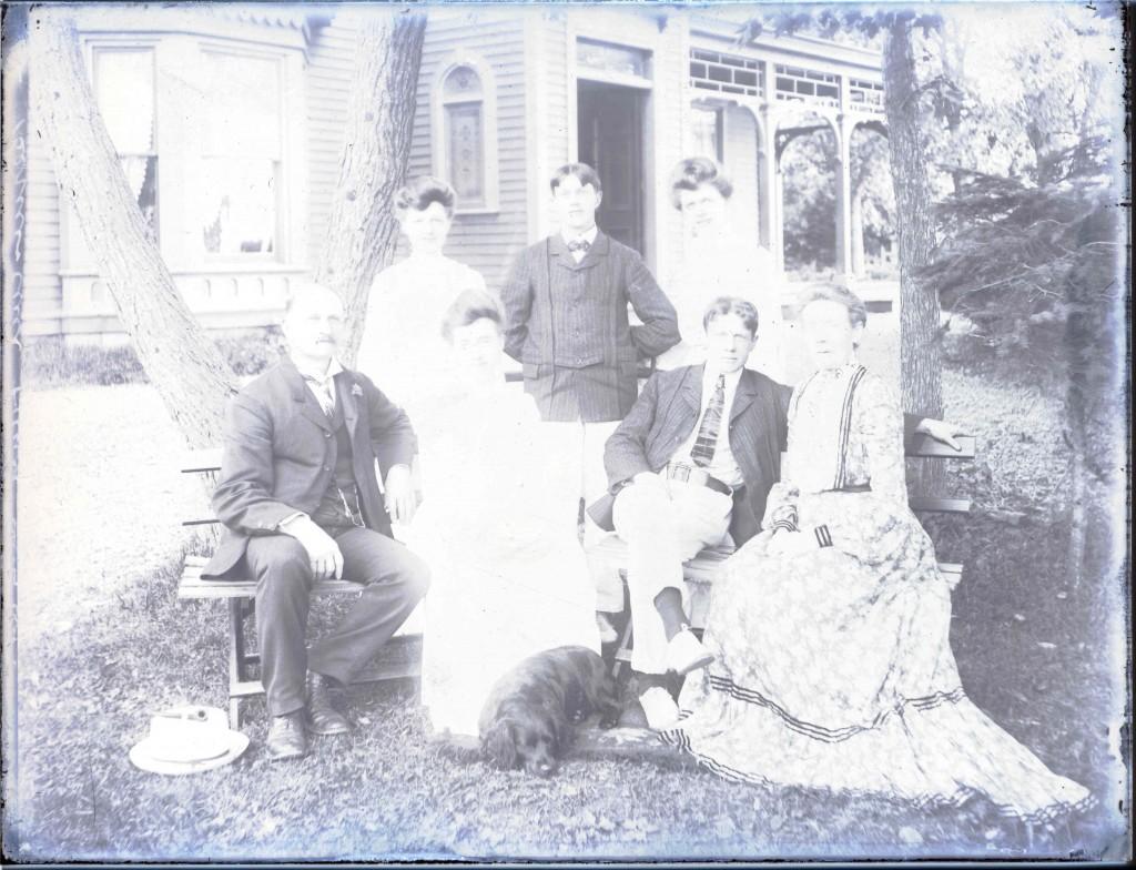 Bernasconi family House of Providence before 1914 Waldren