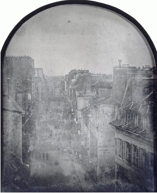 First photo illustrate news 1848 barricadeparisrev