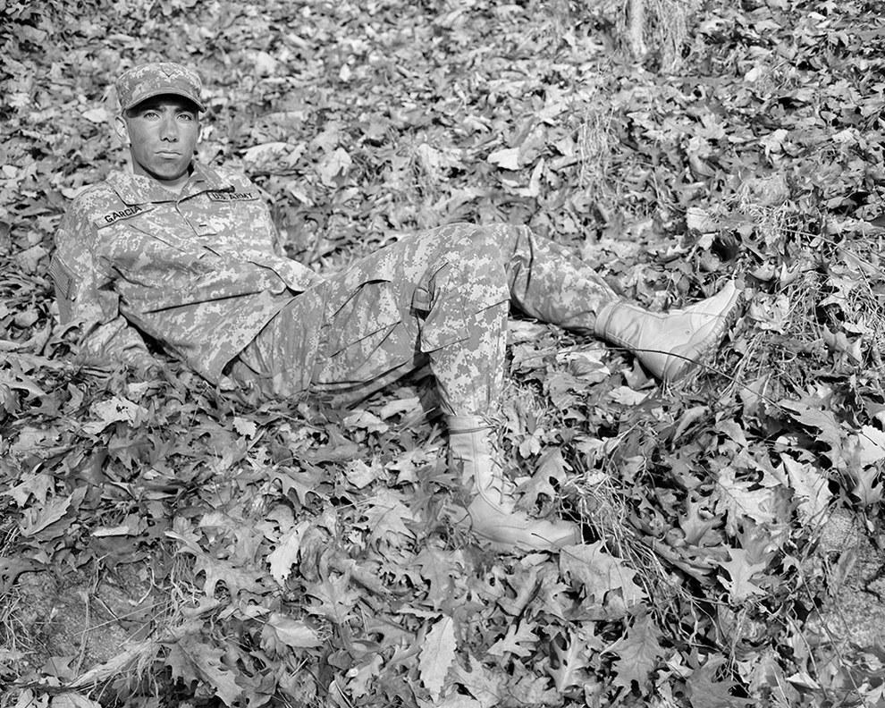 Kristine Potter Military Photography negative