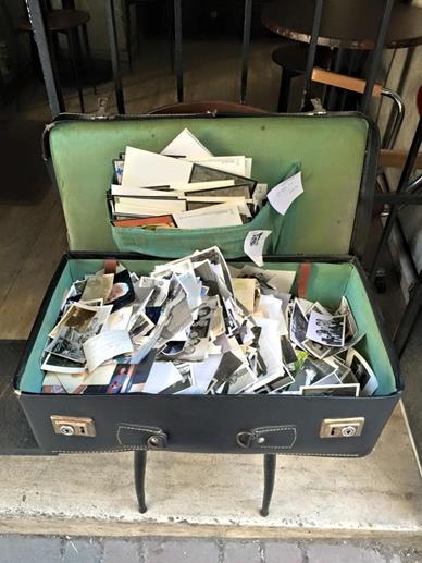 suitcase photographs Istanbul