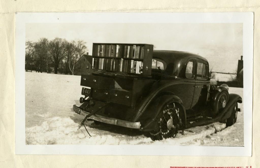 Antigonish Movement Reserve Mines Bookmobile from Beaton Institute